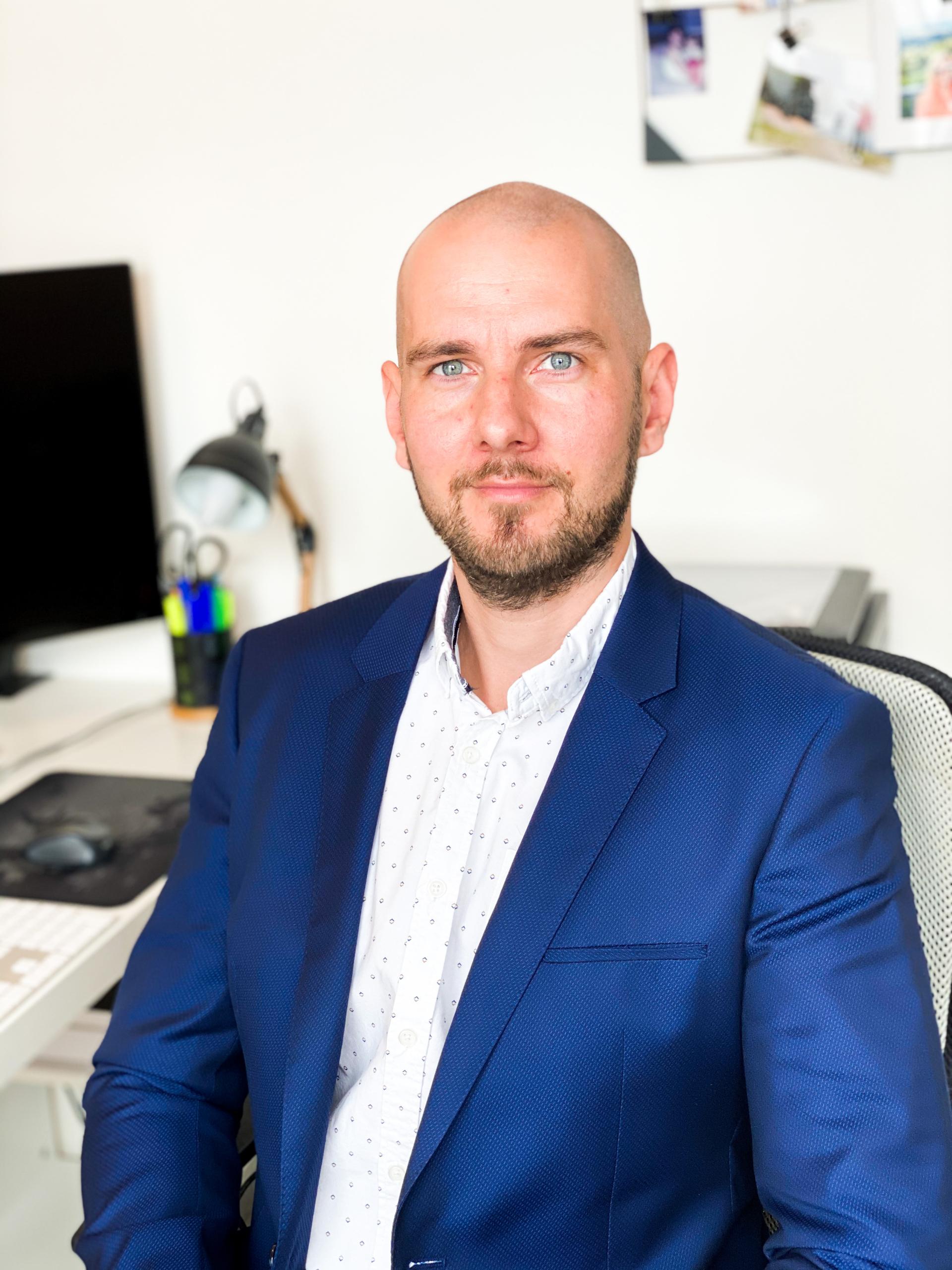 Profilové foto - Ing. Michal Švéda